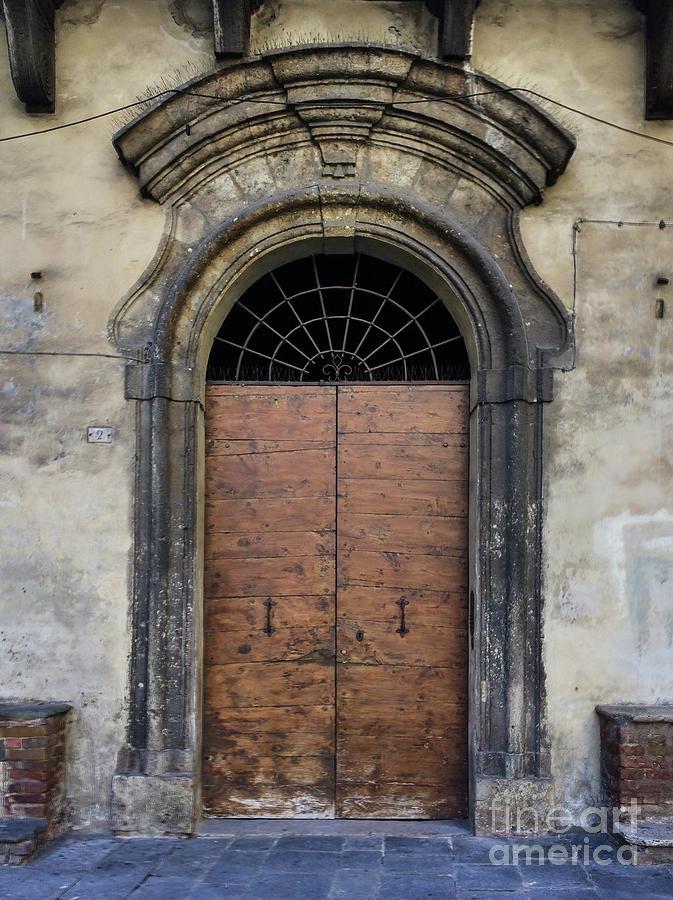 Italian Door #4 by Jennifer Ludlum
