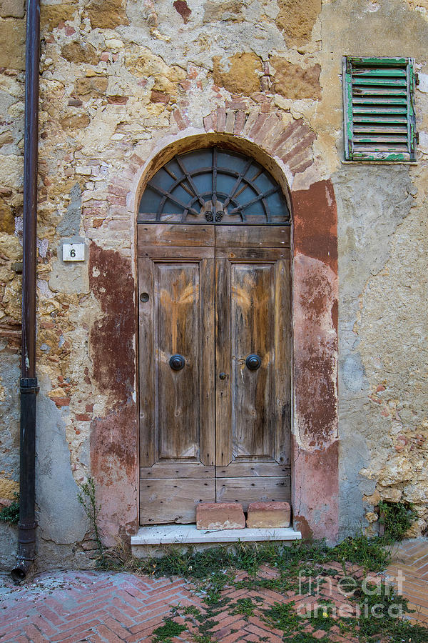 Italian Door #6 by Jennifer Ludlum