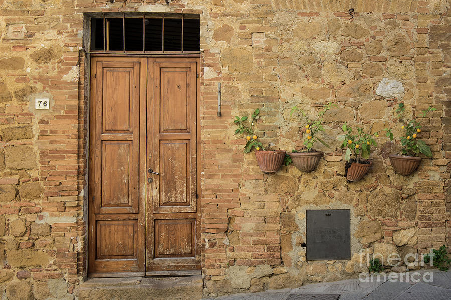 Italian Door #7 by Jennifer Ludlum