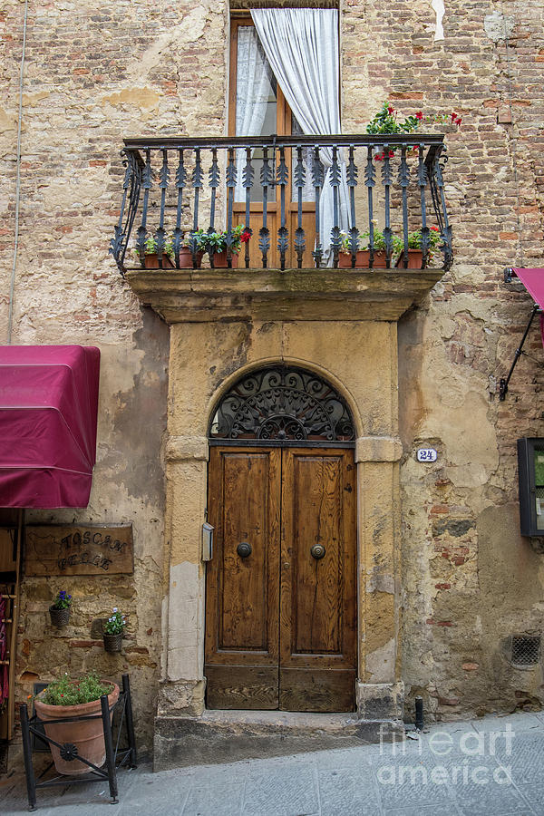 Italian Door #8 by Jennifer Ludlum