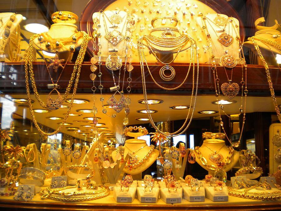 Jewelry Photograph - Italian Gold by Nancy Ferrier