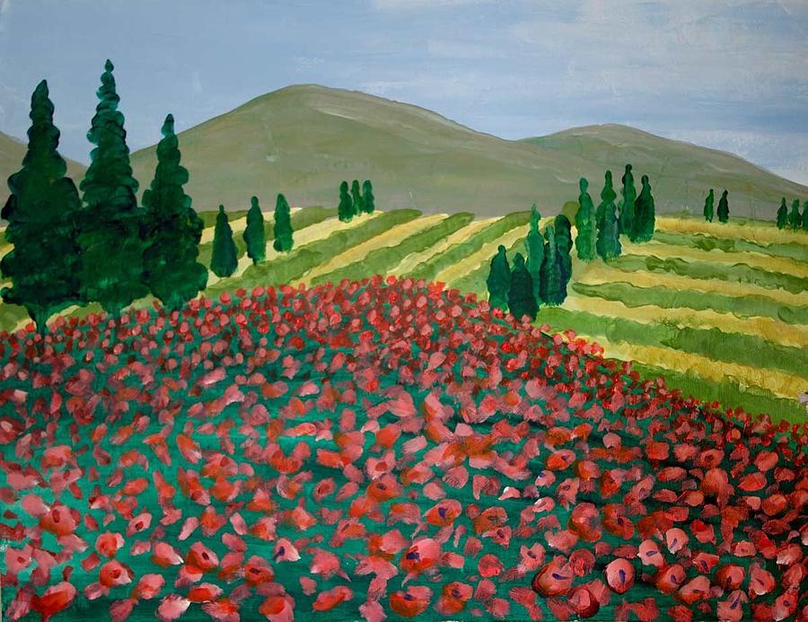 Italian Landscape by Richard Fritz