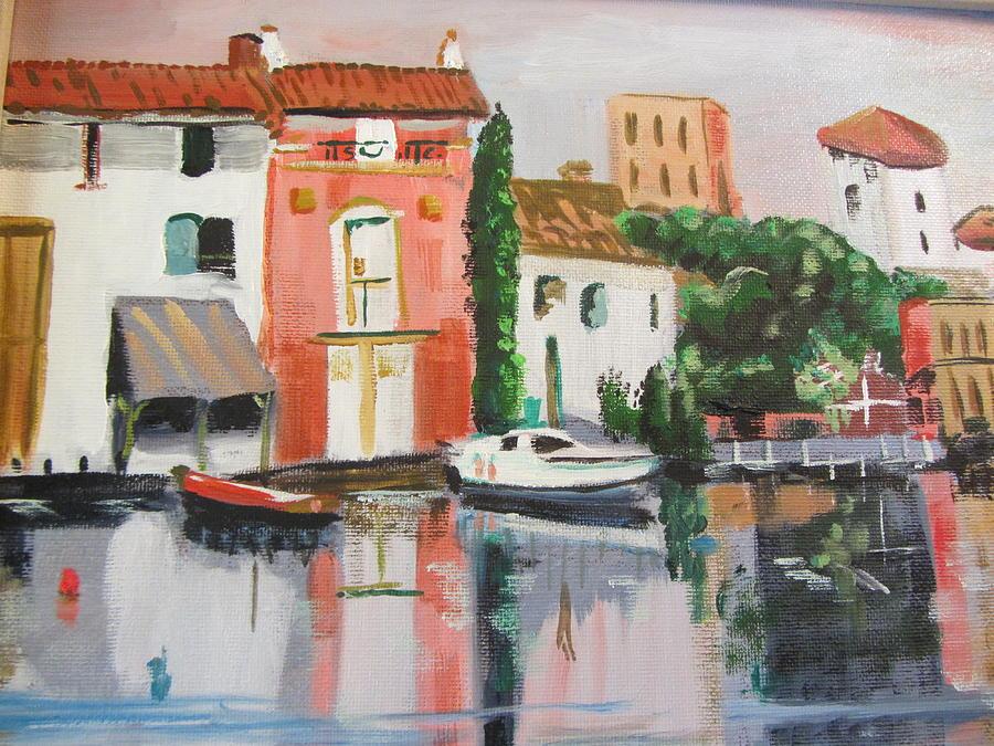 Italian Marina by Dody Rogers