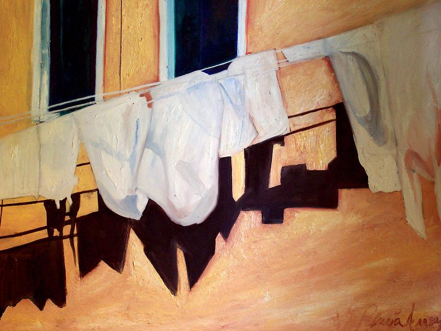 Italian Wash Painting by Patricia Arroyo