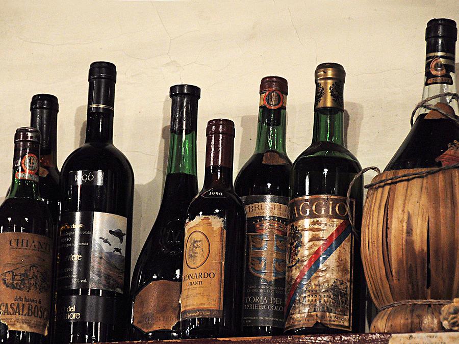 Wine Photograph - Italian Wine by Marion McCristall