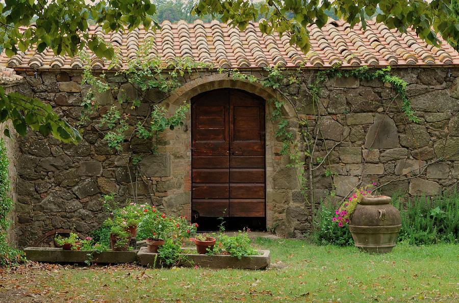 Italy Photograph - Italy Door Twenty Four by Jim Benest