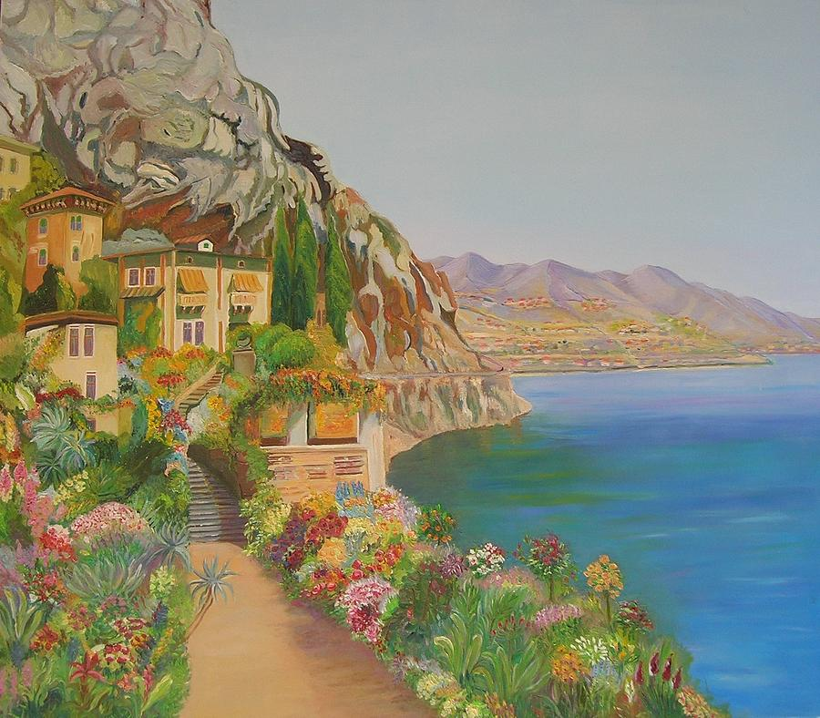 Italy  Painting by Ewald SMykomsky