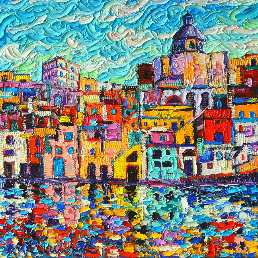 Italy Paintings On Canvas
