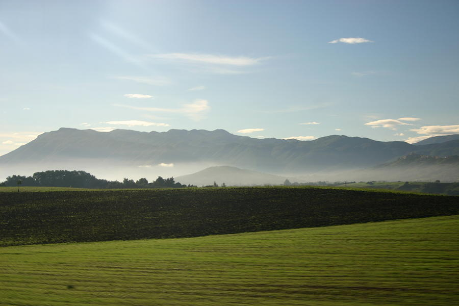 Landscape Photograph - Italys Country Side by Dennis Curry
