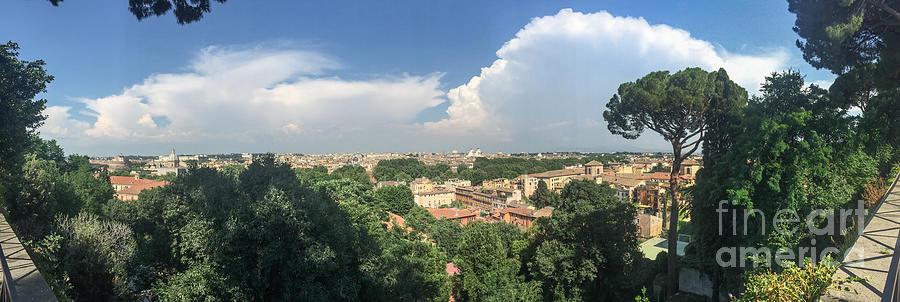 Rome Photograph - Iter Romam Via Ianiculum by Joseph Yarbrough
