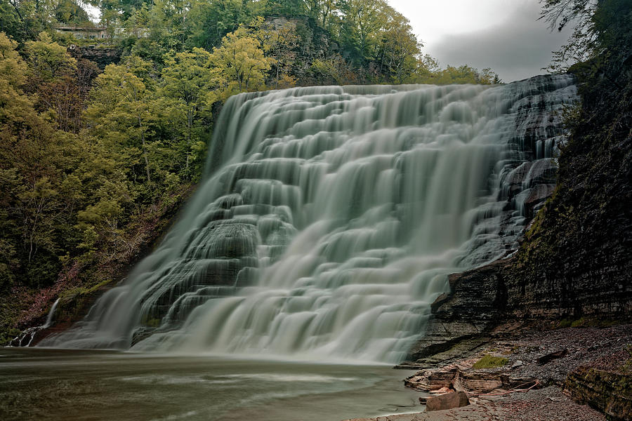 Ithaca Falls Photograph - Ithaca Falls by Doolittle Photography and Art