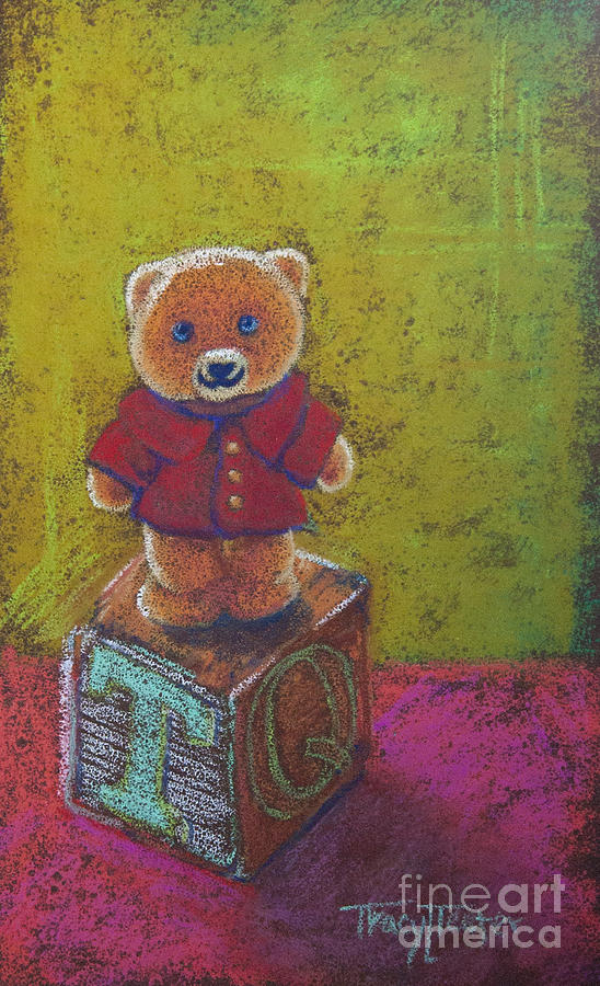 Ted Pastel - Its A Bears World by Tracy L Teeter
