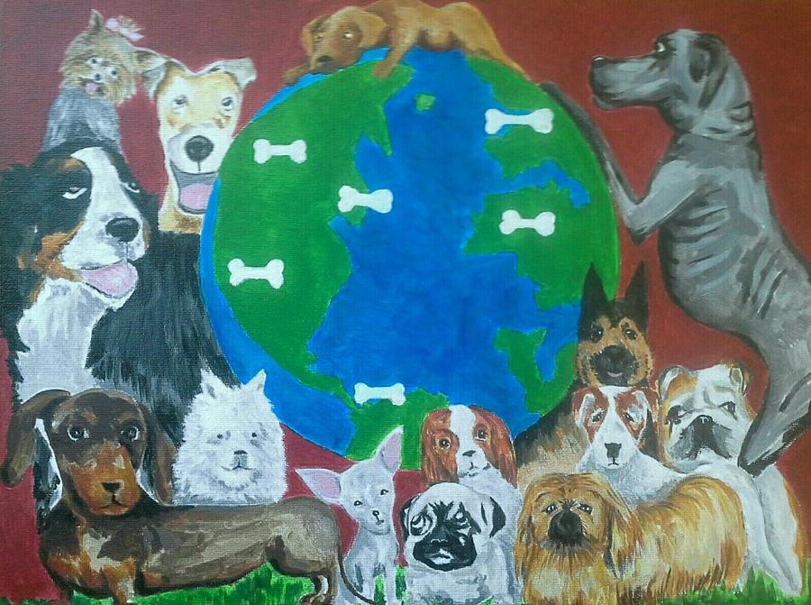 Its a Dogs World by Alan Kennedy