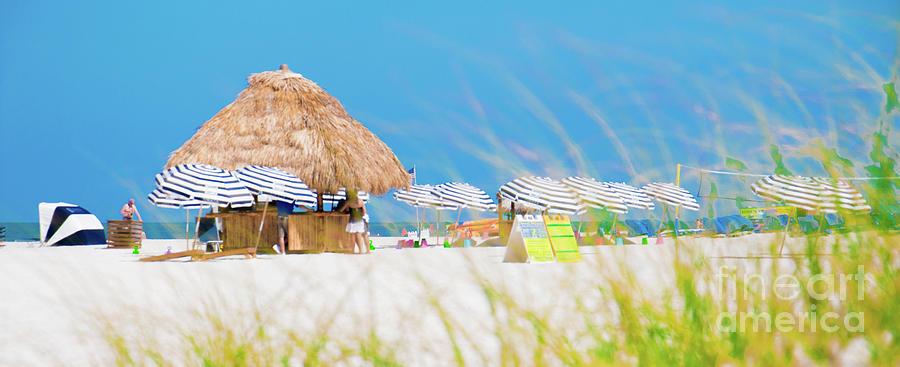 It's a HUT day at the beach by Julio Velez