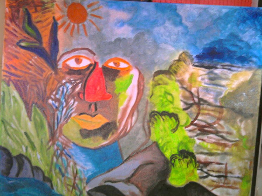 Its A Jungle Out Thr Painting by Puja  Sheth