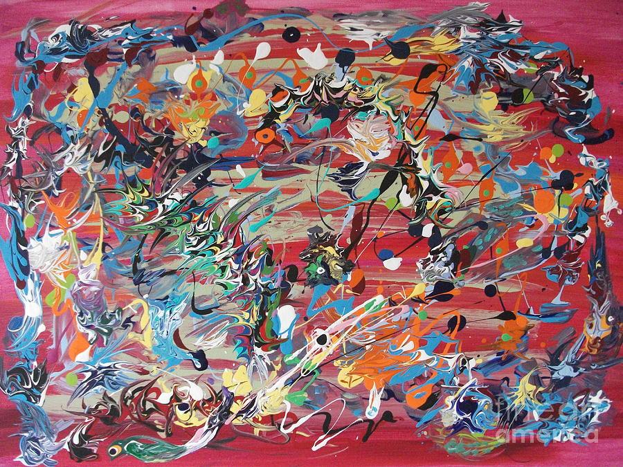 Original Painting - Its A Surprise by Levi Porter