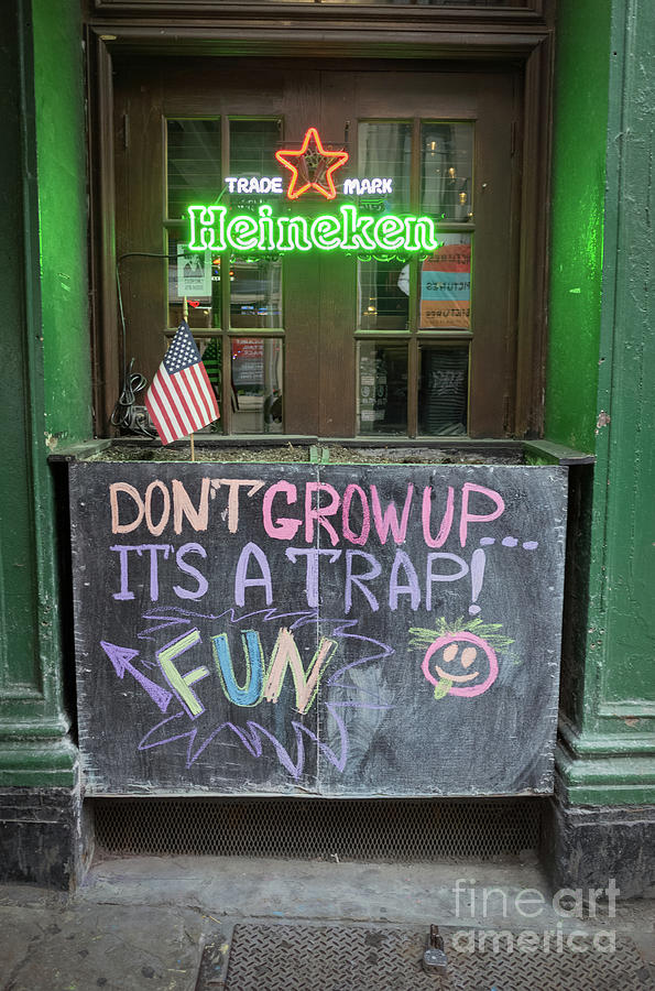 It's A Trap -  New York City #130492 by John Bald