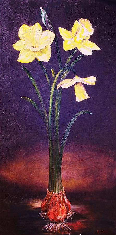 Flowers Painting - Its All About Me by Dana Redfern