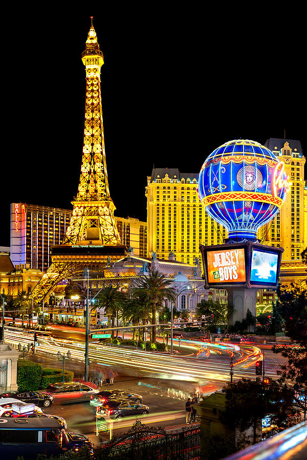 Las Vegas Photograph - Its All Happening by Az Jackson