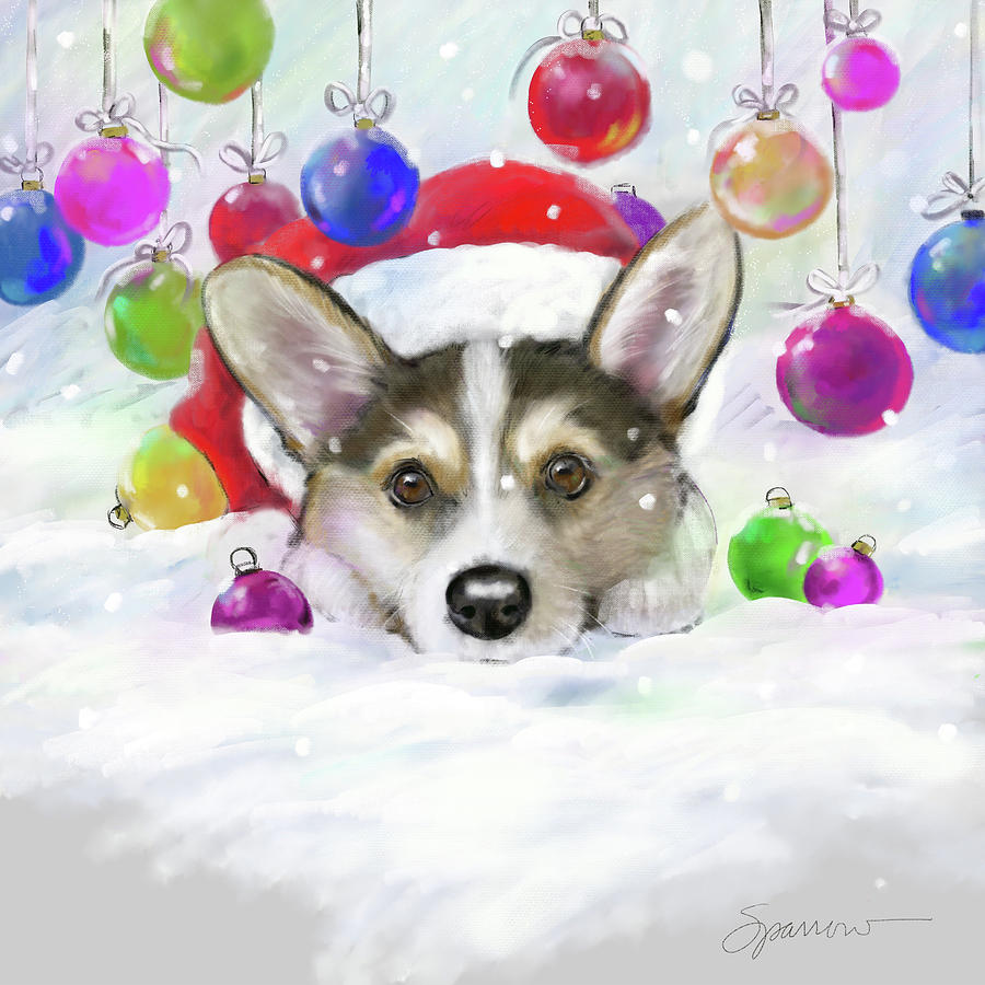 Its Beginning To Look Alot Like Christmas Painting