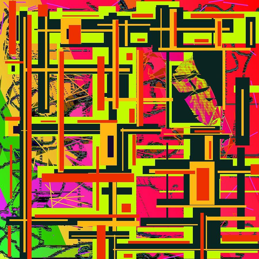 Its Complicated Digital Art by Jacqueline Mason