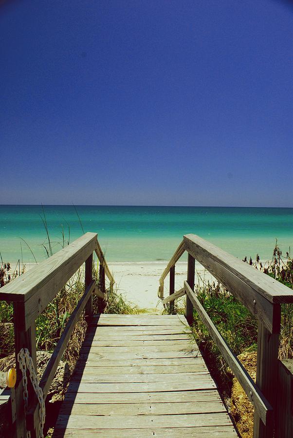 Beach Photograph - Its Five Oclock by Gary Wonning