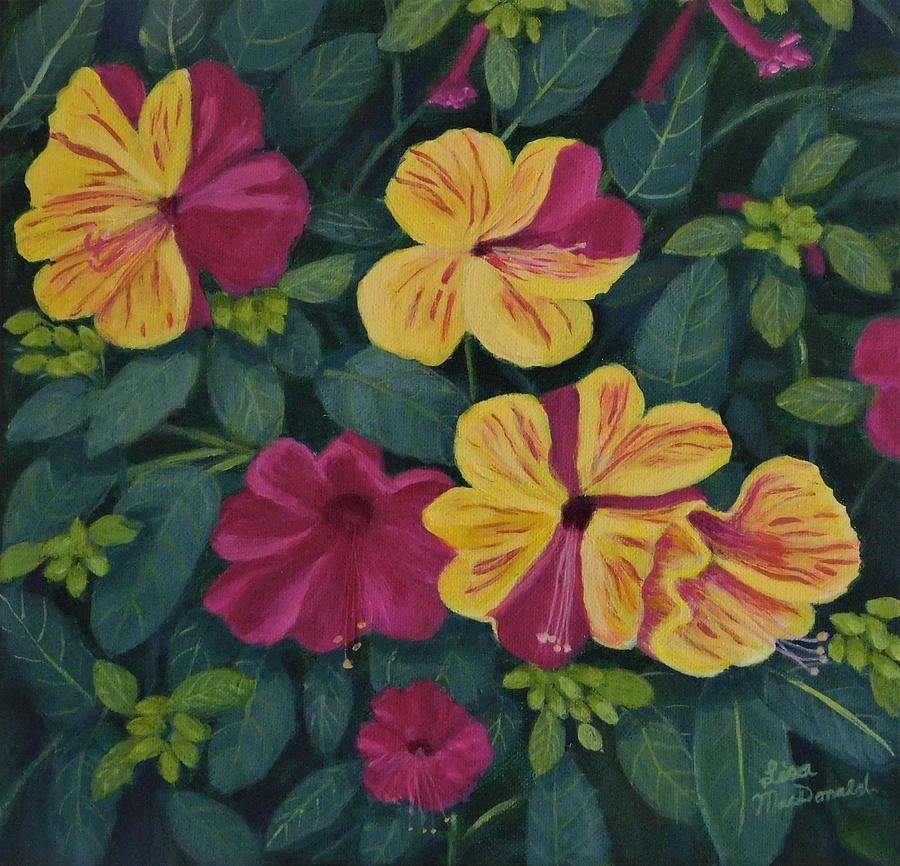 Landscape Painting - Its Four Oclock Somewhere by Lisa MacDonald