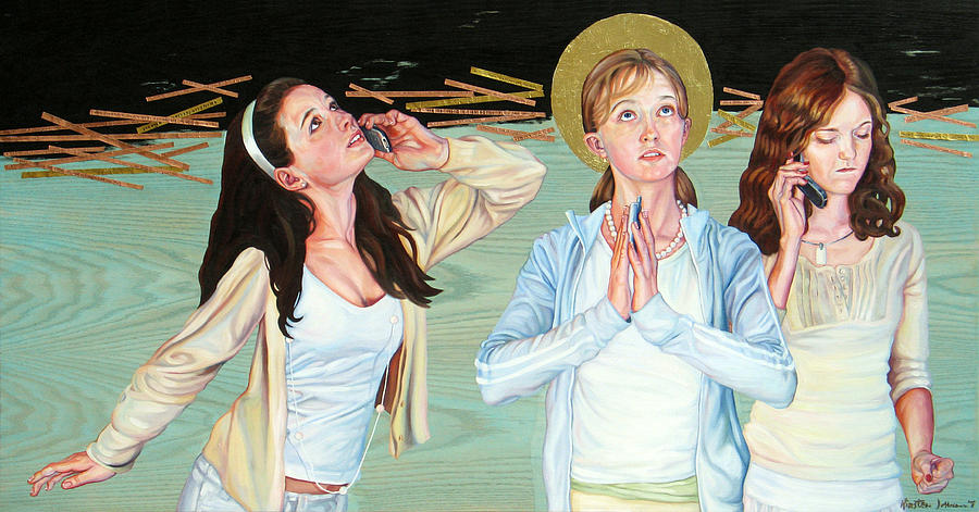 Its Like Youre Standing Still Painting by Kirsten Johnson