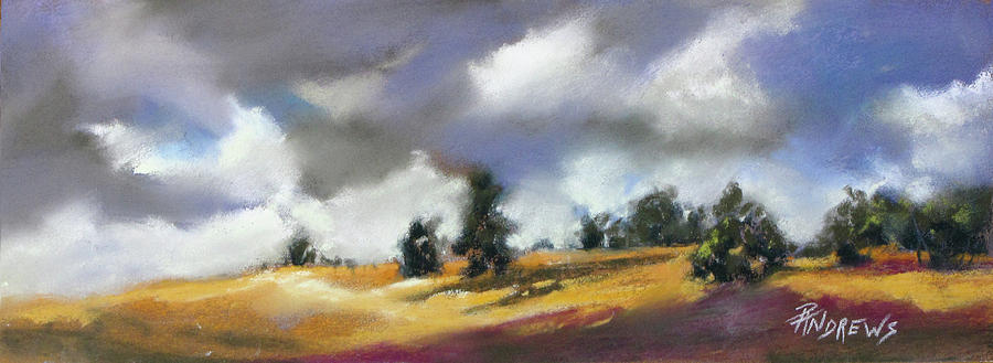 Landscape Painting - Its Showtime by Rae Andrews