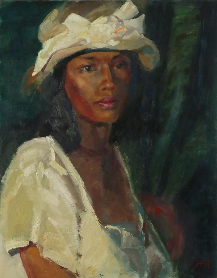 African American Painting - Its Sunday, Again by Irena Jablonski
