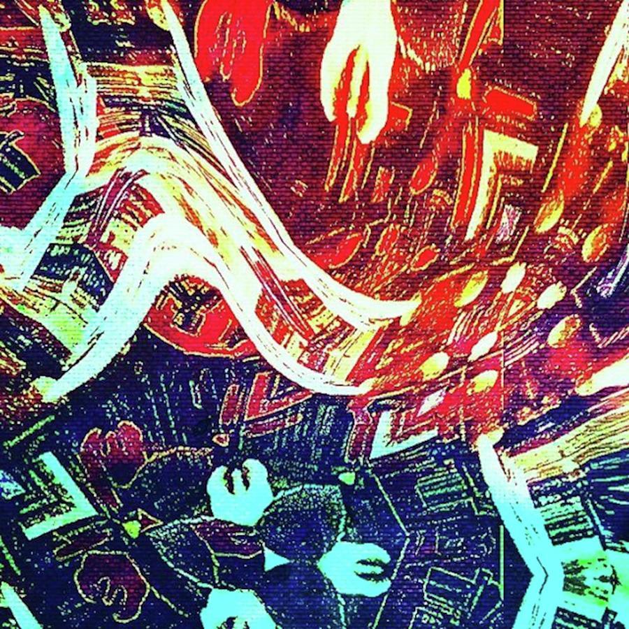 Digitalart Mixed Media - Foot Fall by Gina Callaghan