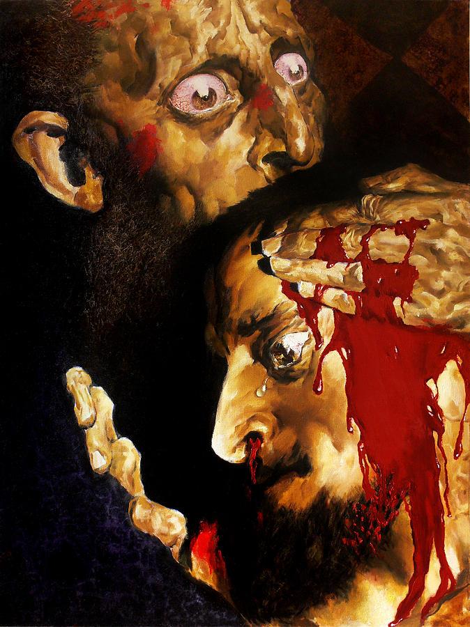 Man Painting - Ivan D by Valeriy Mavlo