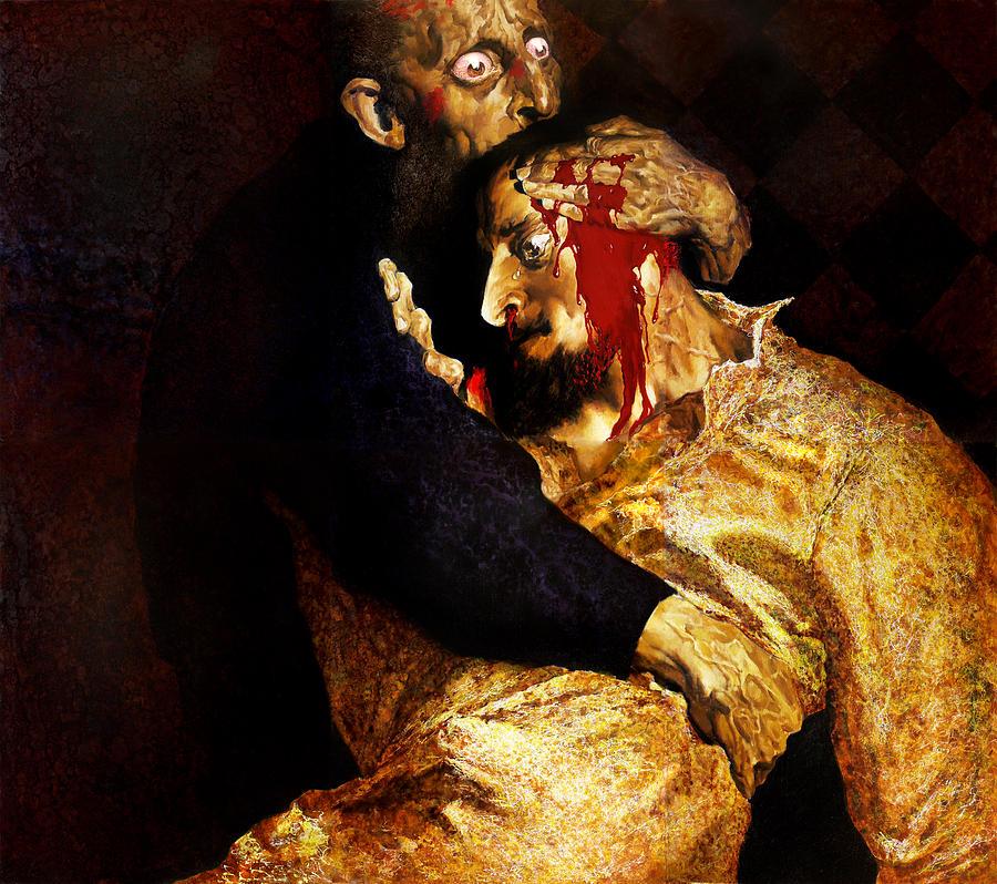 Man Painting - Ivan by Valeriy Mavlo