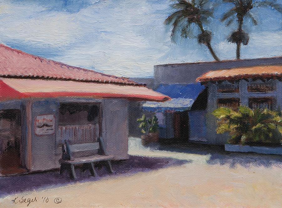 Mexico Painting - Ixtapa by Katherine Seger