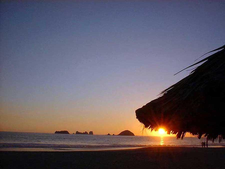 Ixtapa Sunset Photograph by Jack G  Brauer