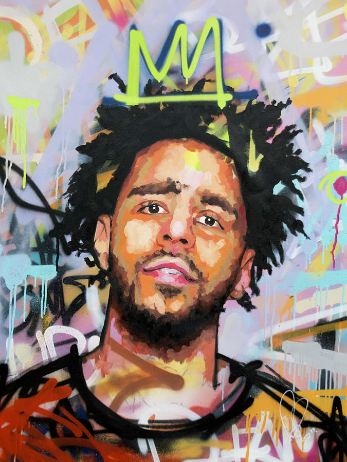 J Cole Painting By Richard Day