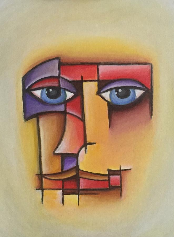 Abstract Face Painting - J. Pierre by D August