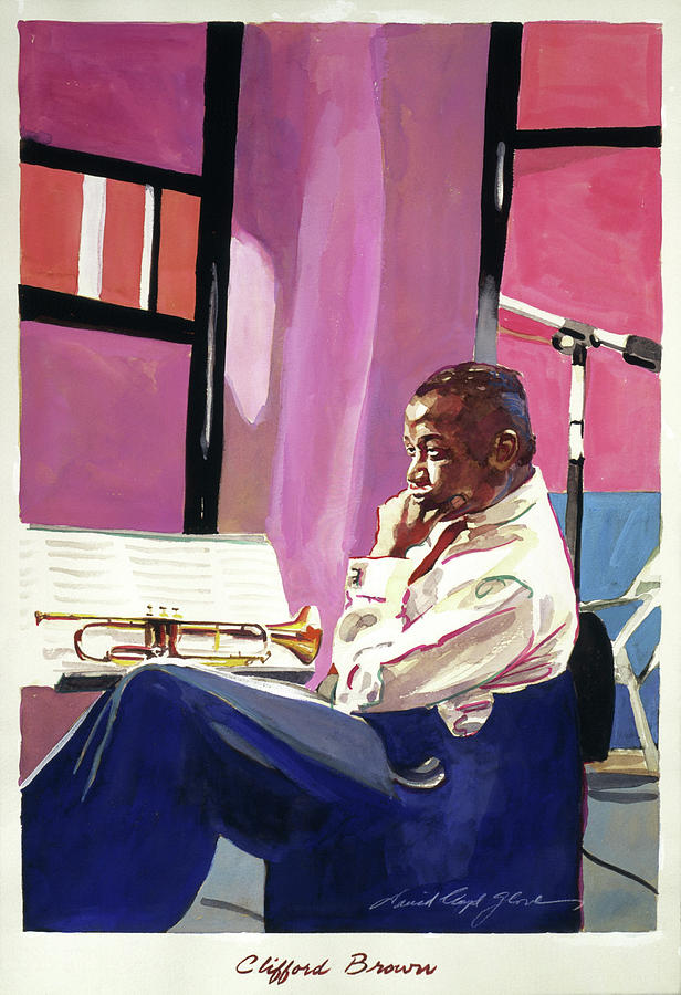 Clifford Brown Painting