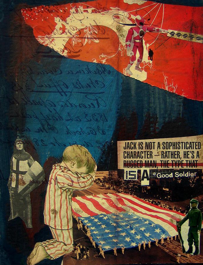 War Mixed Media - Jack by Adam Kissel