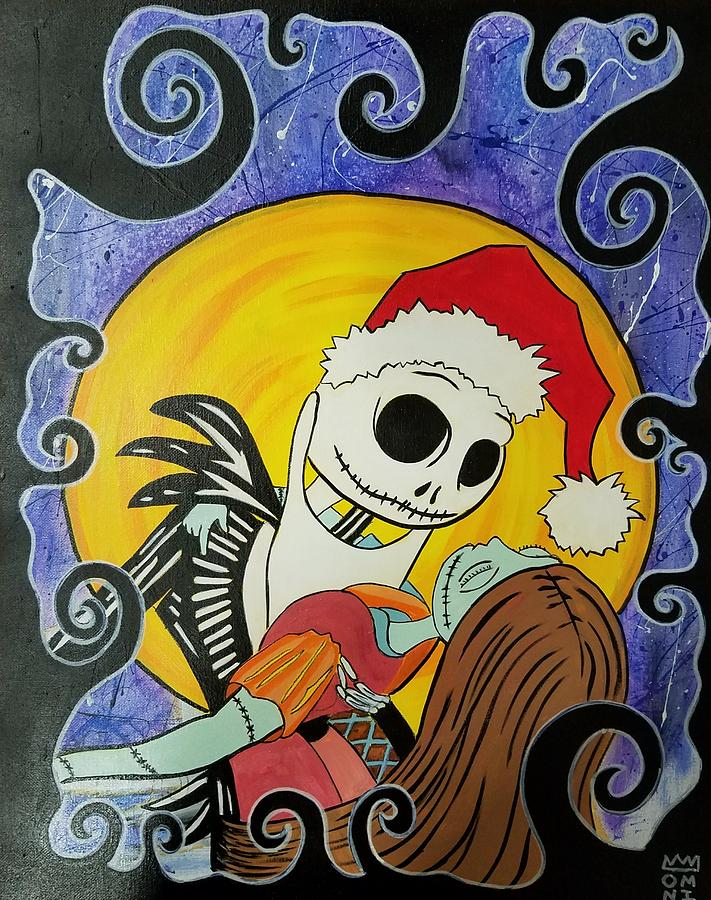 Jack And Sally Painting by Omniscient