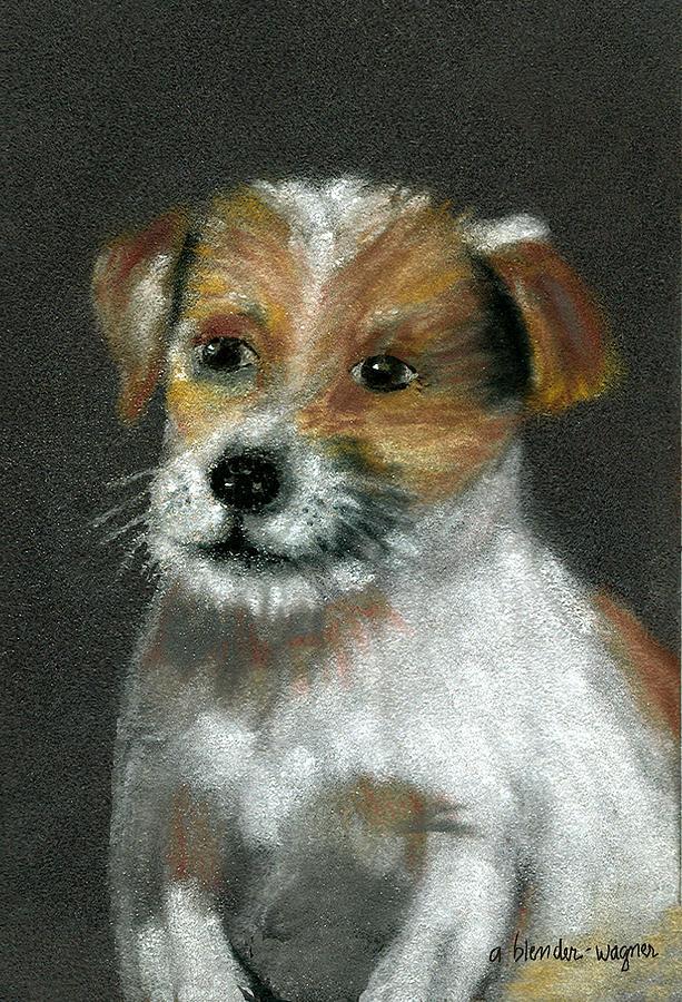 Dog Pastel - Jack by Arline Wagner