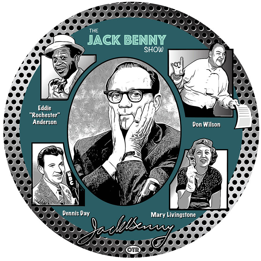 Jack Benny Show Digital Art
