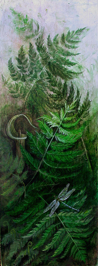 Jack-in-the-pulpit Mixed Media - Jack In The Pulpit by Sandy Clift