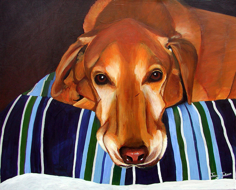Dog Painting - Jack by Joanna Jackson