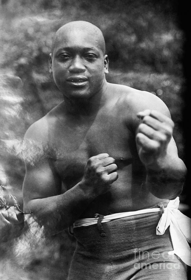 1910s Photograph - Jack Johnson (1878-1946) by Granger