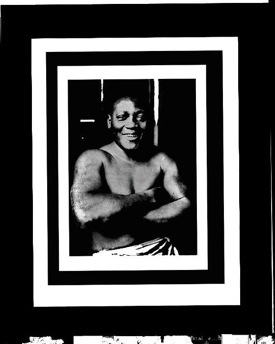 Jack Johnson Heavyweight Boxing Champion 1915 Coolant Frames Added 2016 Photograph