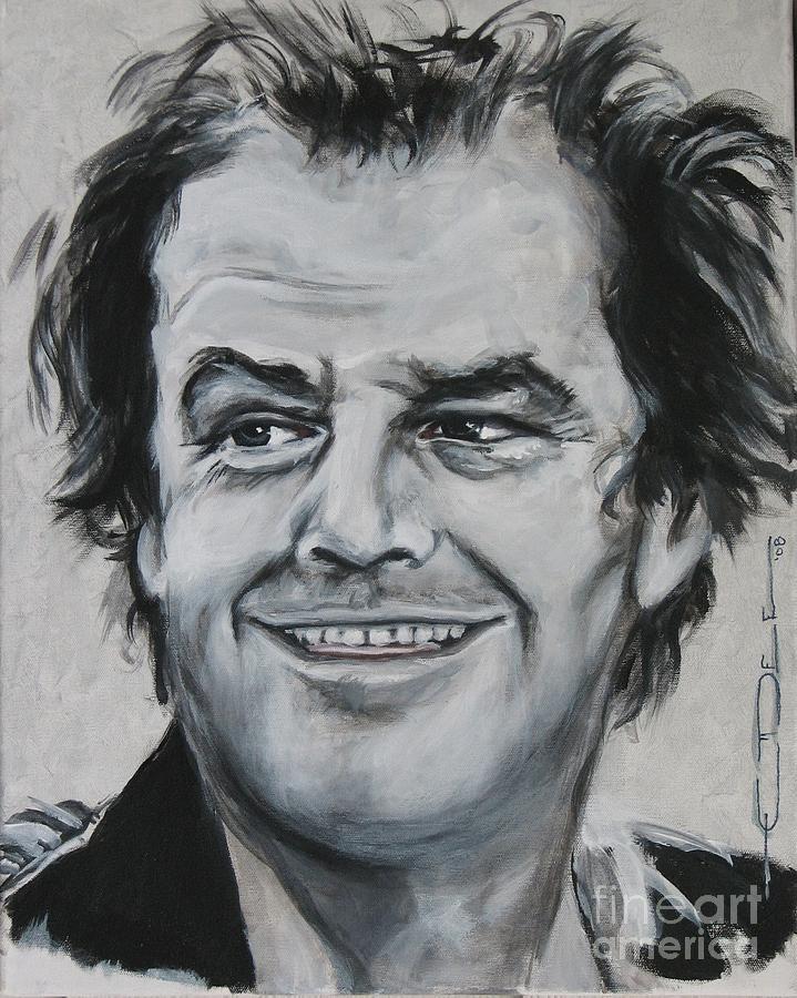 Jack Nicholson Painting - Jack Nicholson by Eric Dee