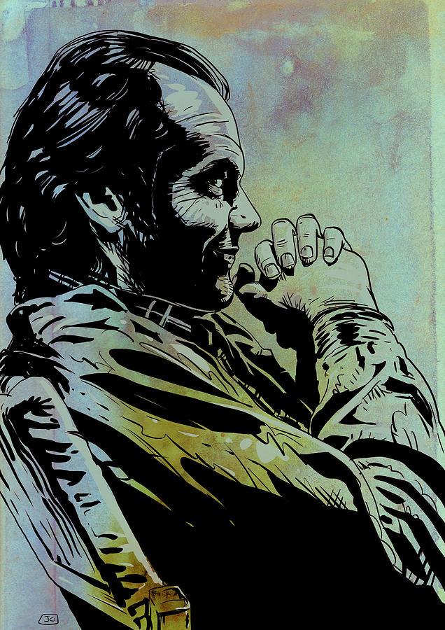 Jack Nicholson Drawing - Jack Nicholson by Giuseppe Cristiano