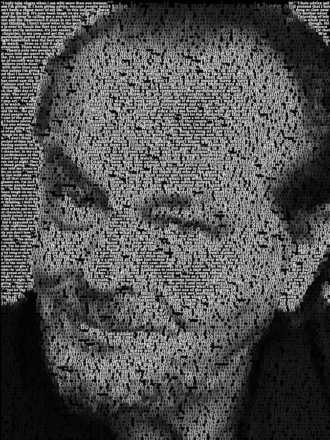 Jack Nicholson Quotes Mosaic
