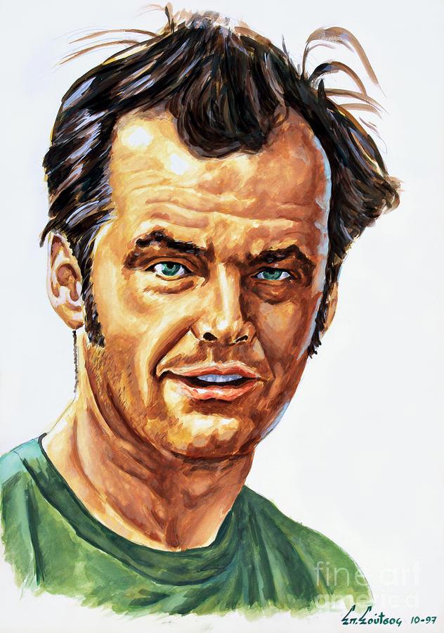 Jack Nicholson by Star Portraits Art